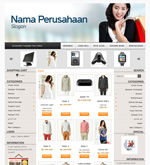 Template Toko Online Boxy Grey