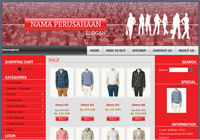 Template Toko Online Boxy Red