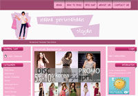 Template Toko Online Cheerful Pink